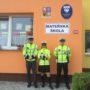 Beseda policistů s dětmi z mateřské a základní školy