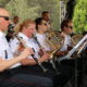 Kolonádu v Poděbradech rozzářil policejní orchestr se sólisty